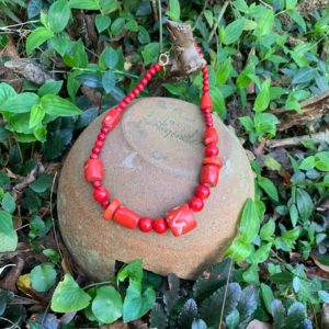 Coral Coral Choker Necklace