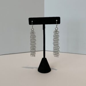 Mesh Earrings (Silver or Gold)